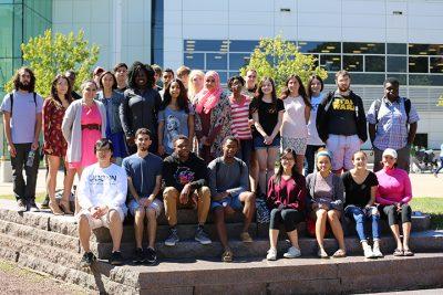 Photo of Stamford Students