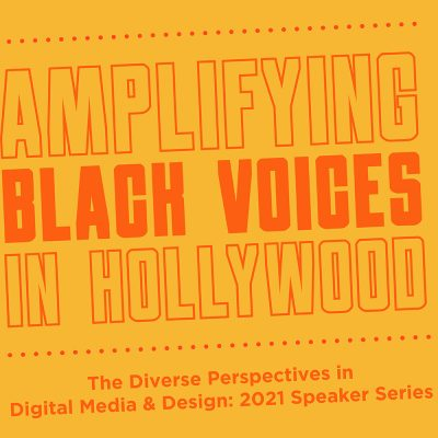 (Via UConn Today) 'Amplifying Black Voices in Hollywood' Debuts DMD Speaker Series