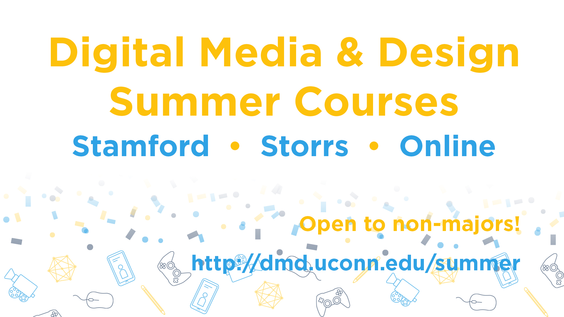 Summer Courses promotional poster